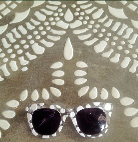 7e4ff7a6cda White spot also available in navy spot  paredeyewear. Courtesy of   paredeyewear in  Instagram.  cafecouscous  mandala  morrocan  stylishcafe