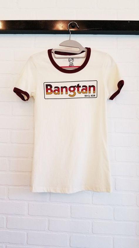 7a188c1cb99c BTS Bangtan Retro Tshirt Kpop Brand New Army Sweatshirt Korea Hangul  Clothes Fan Hoodie Merch OPPANG