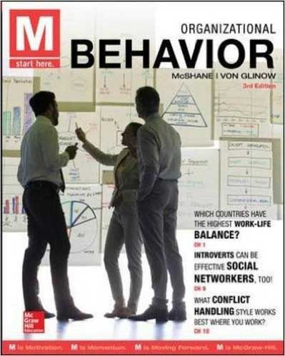 Solution Manual M Organizational Behavior 3rd Edition