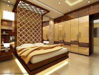 صور ديكورات جبس بورد غرف نوم مودرن 2018 Bedroom Bed Design Modern Bedroom Interior Ceiling Design Bedroom