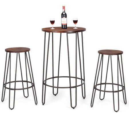 Home Bistro Stools Bar Table Sets Bar Table