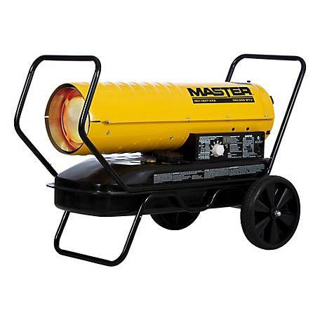 Master 140000 Btu Kerosene Forced Air Heater Mh 140t Kfa At Tractor Supply Co Forced Air Heater Heater Kerosene Heater