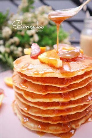 Simple Pancake Kue Dadar Makanan Dapur