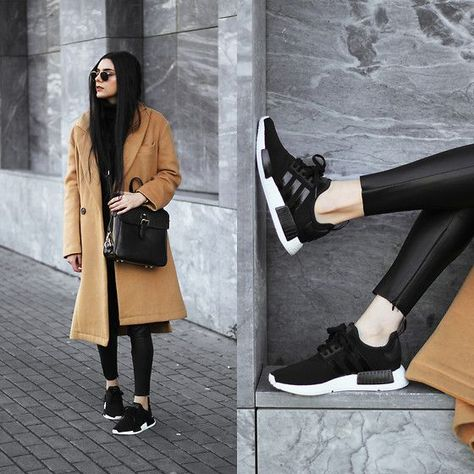 40 great outfits combined with Adidas NMD for women #adidas