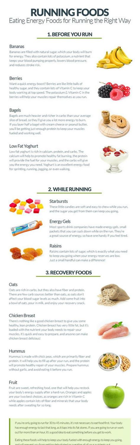 Running Foods: Eating Energy Foods for Running the Right Way