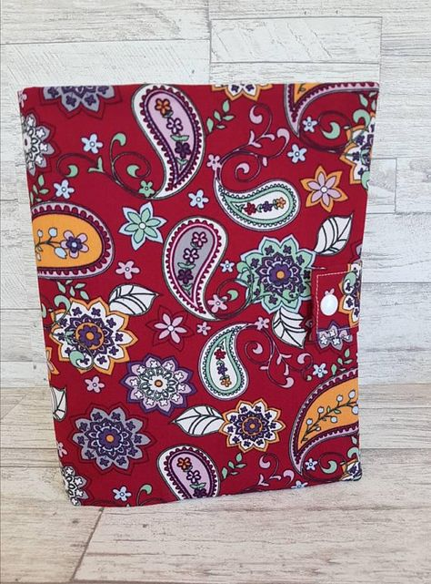 A5 Folder, 6 ring binder with fabric cover ready for you to add your