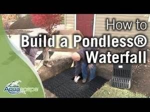 Diy Pondless Wateefall Yahoo Search Results Waterfalls Backyard Backyard Water Feature Backyard Pondless Waterfall