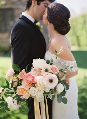 This Garden Wedding Is Like A Watercolor Painting Come To Life