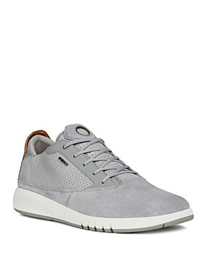 GEOX MEN'S AERANTIS LACE UP SNEAKERS. #geox #shoes