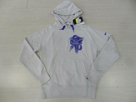 db88a424 eBay #Sponsored 0597 NIKE SIZE XL KOBE BRYANT BASKETBALL HOODED SWEATSHIRT BLACK  MAMBA L.A.