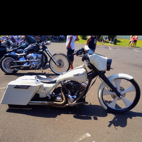 And the winner is?  This sweet Harley.