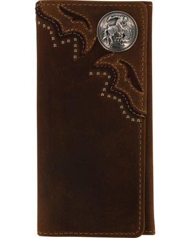 Cody James Men S Leather Tri Fold Wallet In 2020 Leather Wallet Mens Tooled Leather Wallet Leather Wallet Pattern