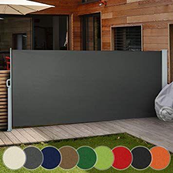 Paravent Exterieur Retractable Pour Jardin Balcon Terrasse Taille Et Couleur Au Choix 160x300cm Meuble Angle Ikea Meuble Salle De Bain Ikea Meuble A Cases