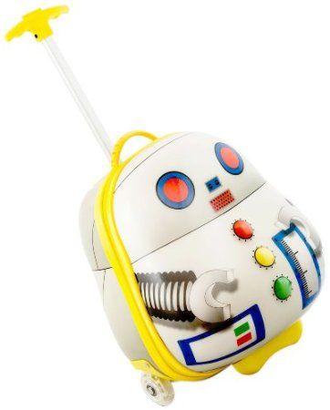 Luggo Roboter Trolley Kinderkoffer Rucksack: Amazon.de: Baby
