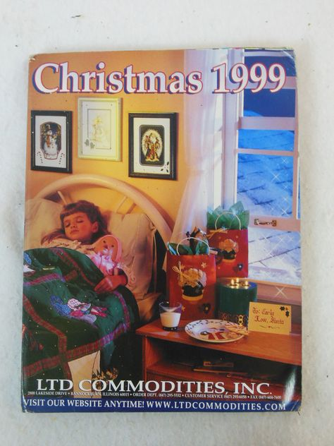 Ltd Christmas Catalog.Ltd Commodities Inc Christmas 1999 Gift Catalog