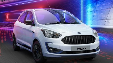 Ford Starts Retail Of New Figo Facelift In India At Price Upto Rs 8 09 Lakh Ford Small Suv Bike Brands