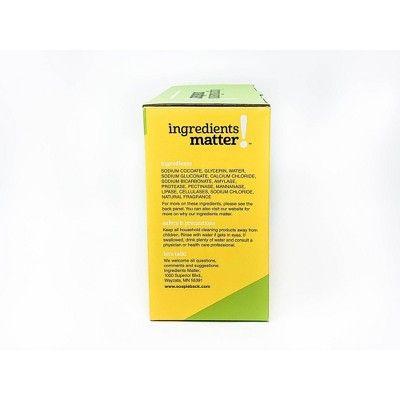 Ingredients Matter Lemongrass Laundry Soap Powder 36oz Powder