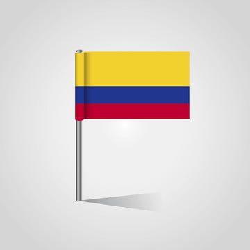 Diseno De La Bandera De Colombia Vector 3d Resumen America Png Y Vector Para Descargar Gratis Pngtree Bandera De Colombia Disenos De Banderas Banderitas De Colores
