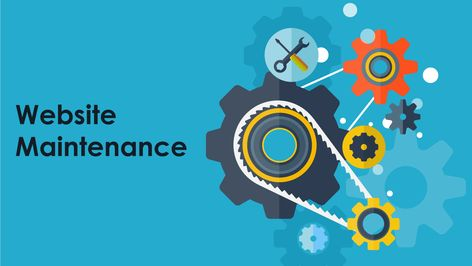 Here you can Explore website maintenance
