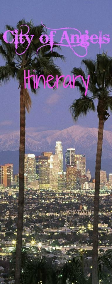 Sightseeing itinerary for Los Angeles. Visit page now - http://www.road-trip-usa.com/blog/category/los-angeles