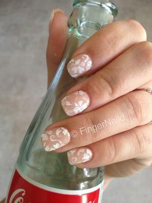 Wedding Nails Summer Nails And A Host Of Other Design Ideas Nerdnaildesigns Makeup Nails Designs Floral Nail Designs Simple Nail Art Designs