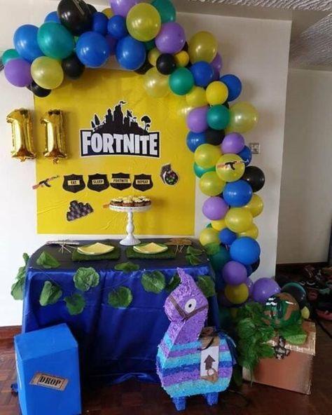 120 Ideas De Cumple Fortnite Fortnite Fiesta Cumpleaños Fiesta De Videojuegos