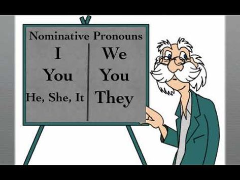 Weeks 4-5: Nominative and Objective Pronouns Song. We won't be learning this tune for our memory work, but it is a good visual supplement. ~Amanda