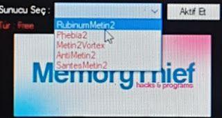 Metin2 PVP MemoryThief Loader Serverlarda Çalışan Yeni