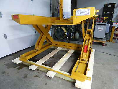 Details About Ecoa Zpl 6000lb Hydraulic Roll On Scissor Lift 44 X 48 115 Volt With Images Scissor Lift Drafting Desk Ebay