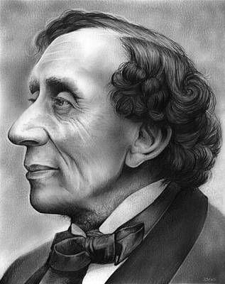 Hans Christian Andersen Portraet Eventyr Billeder