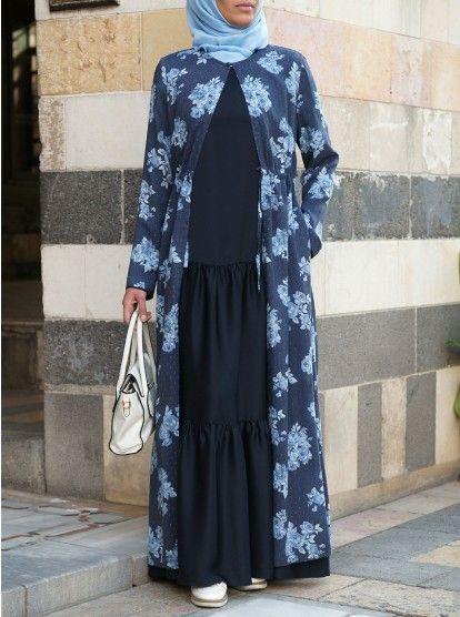 Modest Abayas Shukr Islamic Clothing Abaya Styles In 2020 Islamic Clothing Abaya Hijabi Outfits Casual