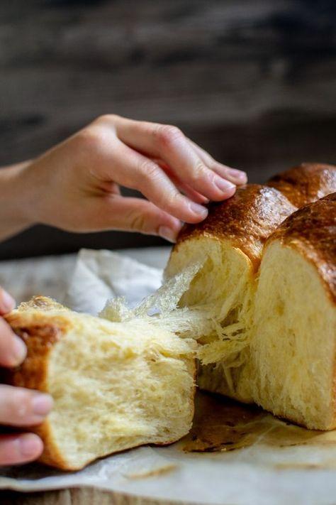 Homemade Sourdough Brioche - Home Grown Happiness