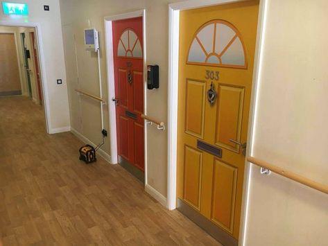 Dementia Friendly Door Wraps For Care Homes And Hospitals Door