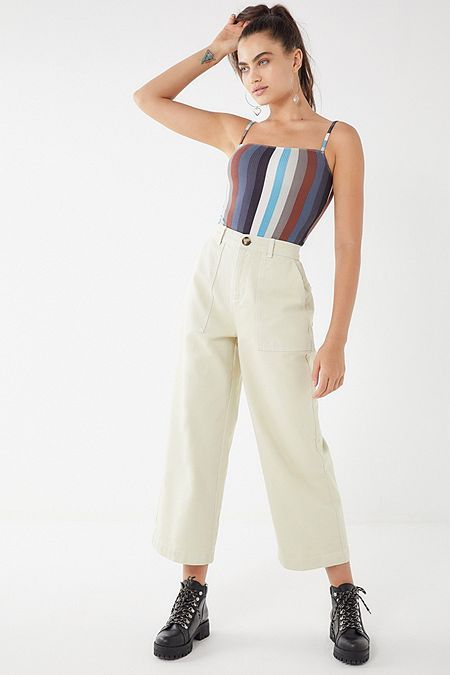 Bdg Contrast Stitch Carpenter Jean Golden Carpenter Jeans