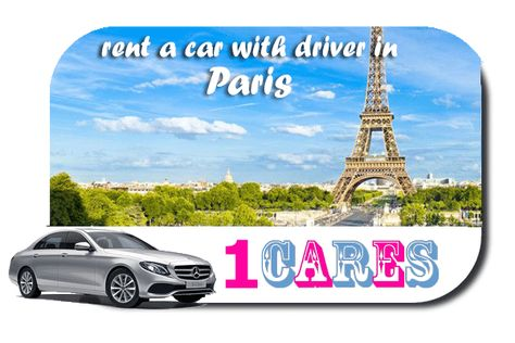 Rent a car with driver in Paris | Hire a car with chauffeur in Paris