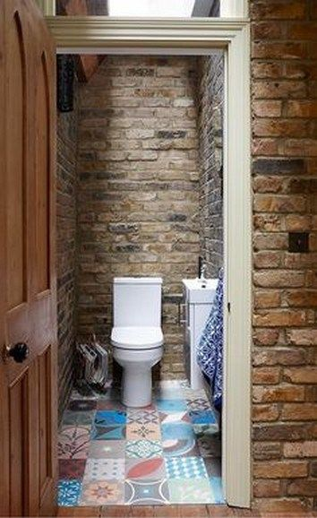 15 Unique Bathroom Design Ideas With Brick Walls That Will Give