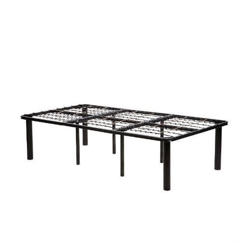 Twin Xl Size Metal Platform Bed Frame No Boxspring Necessary