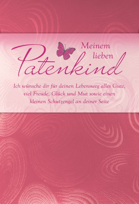 Karte Taufe Text Patenkind Metallic Rose Ebay Texte Zur