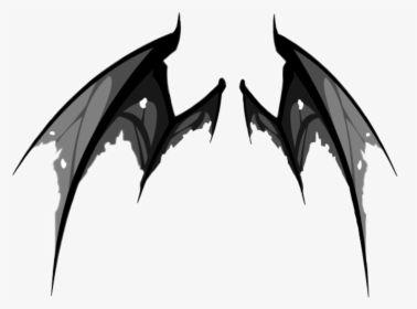 Wing Wings Demon Demonwings Black Tattered Demon Wings Drawing Hd Png Download Demon Wings Wings Drawing Demon Drawings