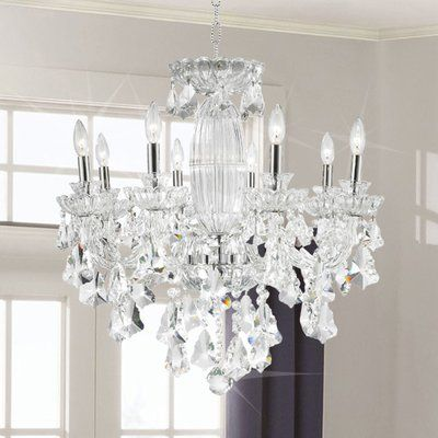 Astoria Grand Pulaski 5 Light Candle Style Chandelier Candle Style Chandelier Chandelier Traditional Chandelier