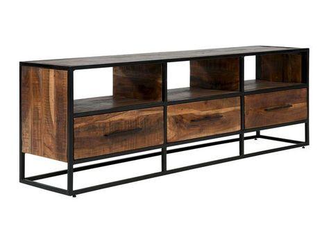 Wohnwand Oklahoma Tv Lowboard Holz Tv Mobel Weiss Und Lowboard