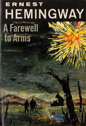 Ernest Hemingway ~ A Farewell to Arms This book will change the way you think. It will break you, not with a fictional account, but a tragic reality of war and the cost of love.