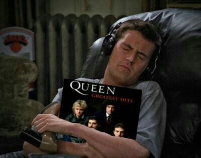 Pin By Isobel Blakeley On Chandler Holding Records Reaction Pictures Bohemian Rhapsody Friends Tv