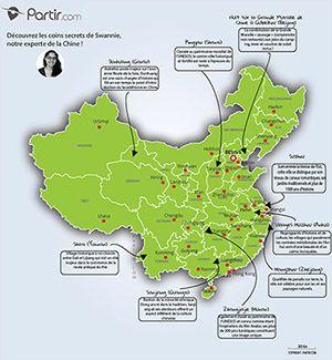 Carte Chine Coins Secrets Voyage En Chine Partir En Voyage Chine