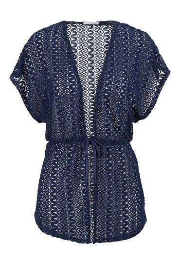 lace tie cardigan in navy #maurices | pretty tops | Pinterest ...