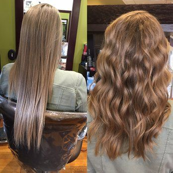 Perm Wave Before And After Google Search Hair Makeup Pinterest