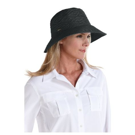 0d7f0b4e Amazon.com: Coolibar UPF 50+ Women's Packable Beach Bucket Hat - Sun  Protection (One Size - Tan): Clothing
