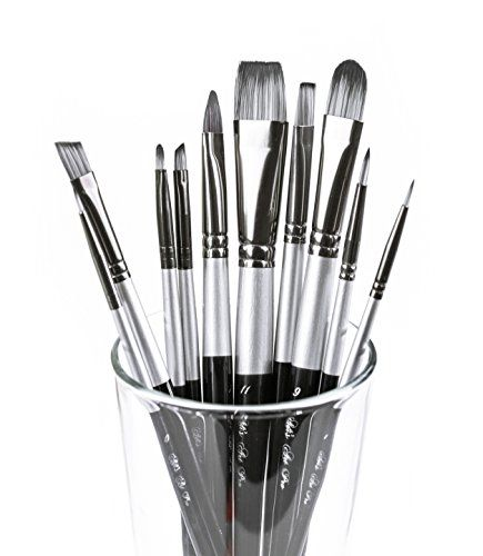 Amazon Com Super Savings Art Paint Brush Set Professional Artist