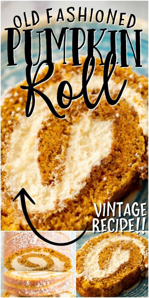 Pumpkin Cream Cheese Roll, Pumpkin Roll Cake, Cream Cheese Rolls, Cheese Pumpkin, Pumpkin Rolls, Pumpkin Roll Filling Recipe, Diabetic Pumpkin Roll Recipe, Carrot Cake Roll Recipe, Easy Cream Cheese Desserts