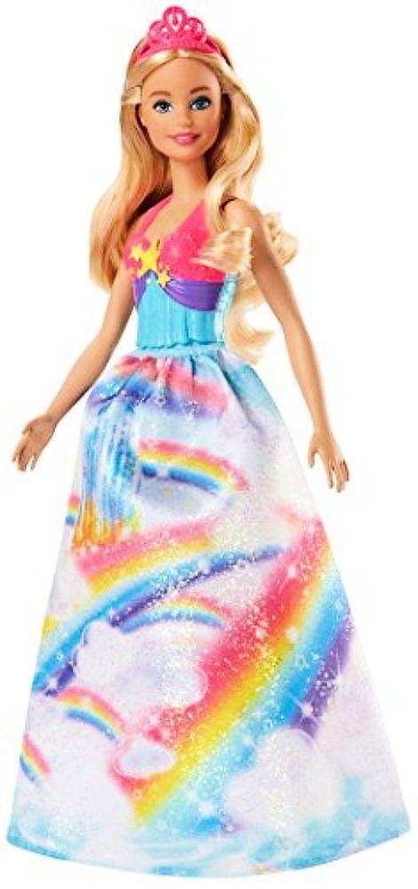 2f814d02 Mattel Barbie Dreamtopia Rainbow Cove Princess Doll, Blonde #Barbie ...